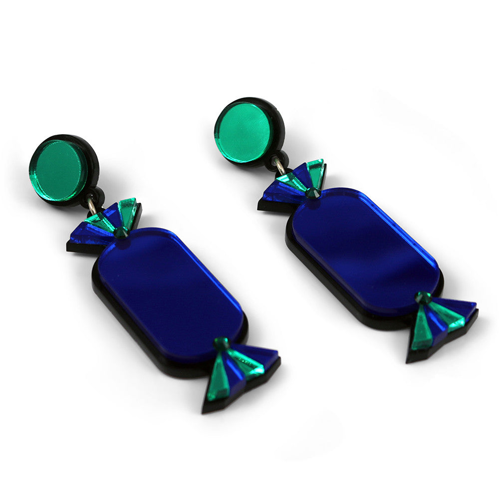 Quality Treat Blue Earrings