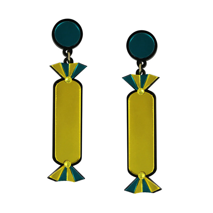 Quality Treat Yellow Earrings