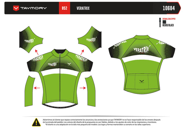 z(Veratrix) B52 Jersey Ciclismo - MUJER