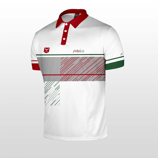 P9 Playera Polo (MEXICO 2018)