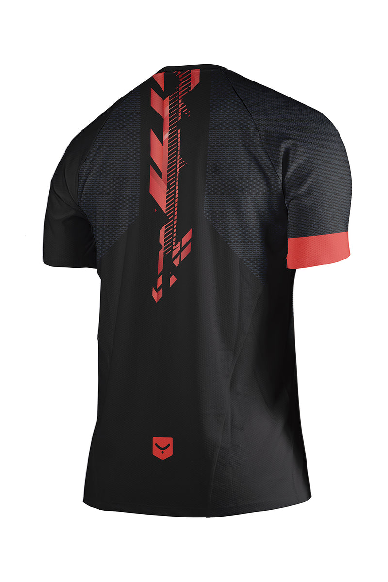 R98 Playera Run Manga Corta Renglan (RED ARROW) - Taymory 2019 - REJOVI