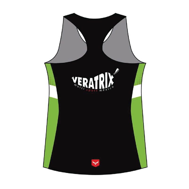 z(Veratrix) R03 Playera Run Tirantes - MUJER - Tabla #3 - Taymory - REJOVI
