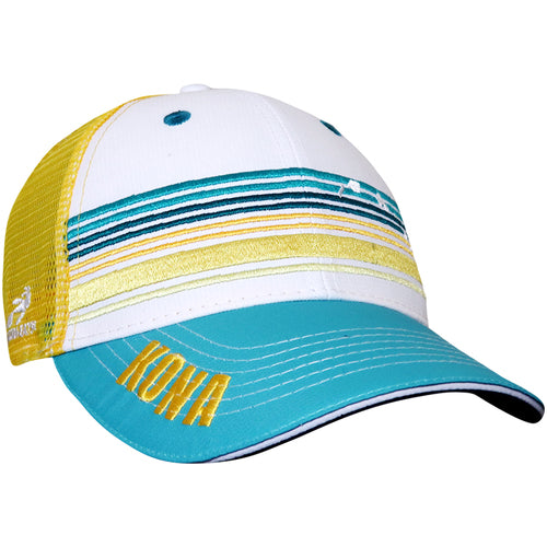 "7743 Gorra tipo Trucker ""Kona Stripes"""