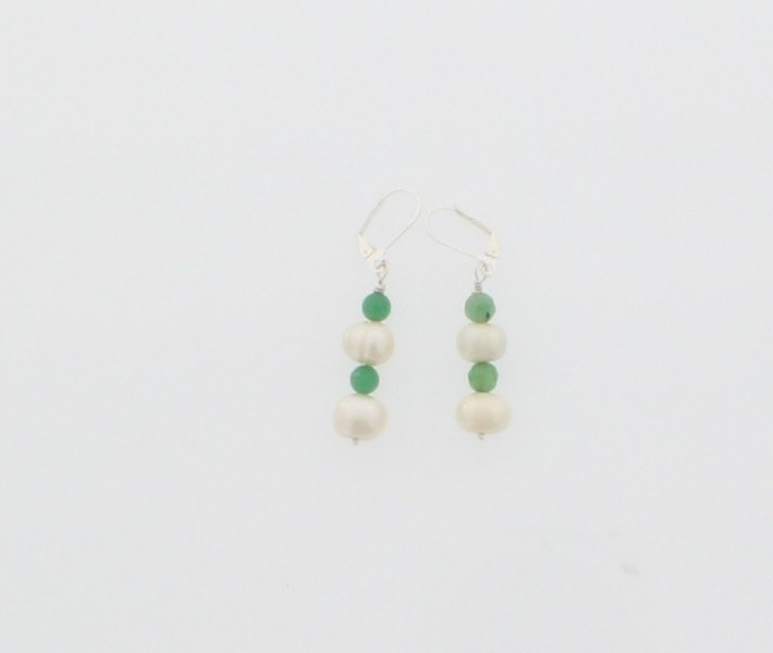 Pearl and Jade Earring - Real Chic Boutique  - 4