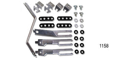 #1158 1955 Chevy IGNITION WIRE SUPPORT BRACKETS & HARDWARE
