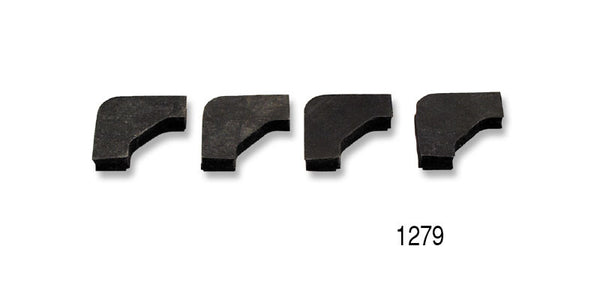 #1279   1955-57 Chevy BATTERY HOLD DOWNS RUBBER PADS