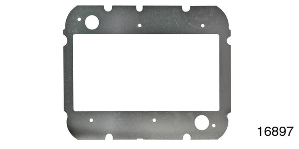 #16897 1957 Chevy DELUXE HEATING CORE MOUNTING PLATE