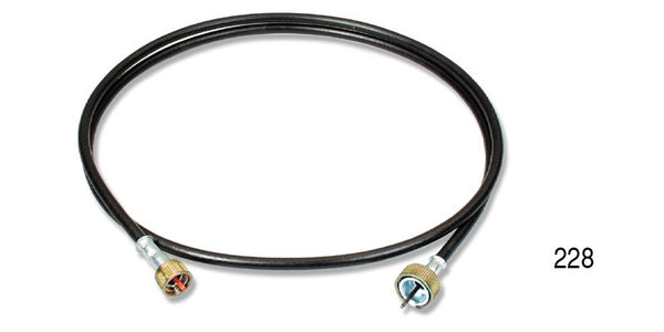 #228   1955-57 Chevy Chevrolet #228 SPEEDOMETER CABLE w/ CASING
