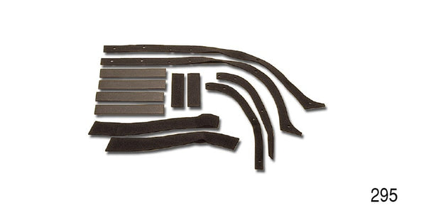 #295  1957  FENDER Anti-Squeak GASKET KIT Chevy