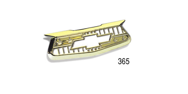 "#365   1955-57 Chevy BelAir #365 Gold CREST EMBLEMS ""Best"""