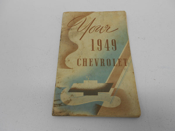 1949 Chevy Original - Used,  Glove Box OWNERS MANUAL