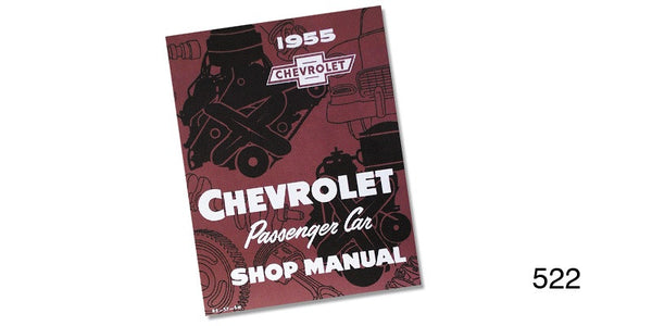 #522  1955 Chevy SHOP MANUAL