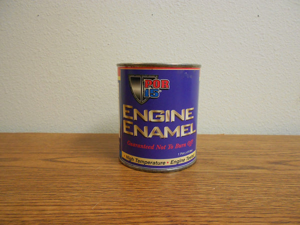 "#EEPB POR-15 Pint ENGINE ENAMEL ""Black"""