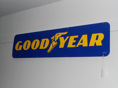 "GOODYEAR Collectible Sign ""Double Sided"""