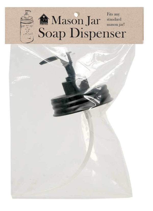 Set of 4 Mason Jar Soap Dispenser Lids