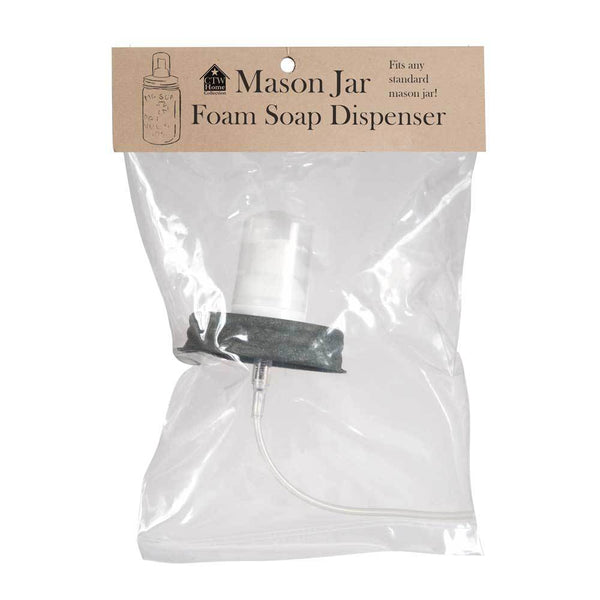 Mason Jar Foaming Soap Dispenser Lid - Barn Roof - Box of 4
