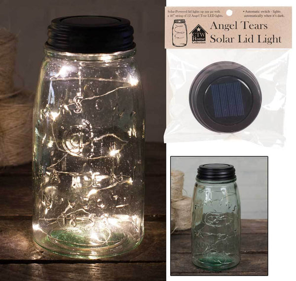 Solar Lid-Light - Angel Tears - Set of 4