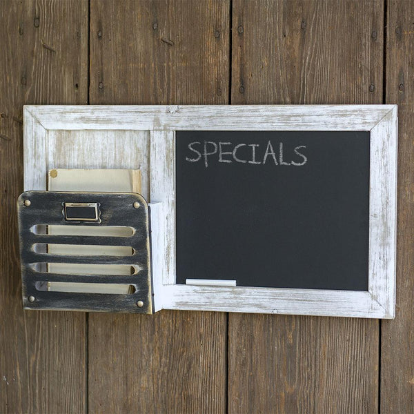 Chalkboard and Single Pocket Organizer