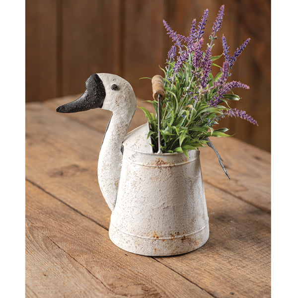 Goose Bucket with Wood Handle