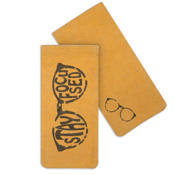 Stay Focused Glasses Case