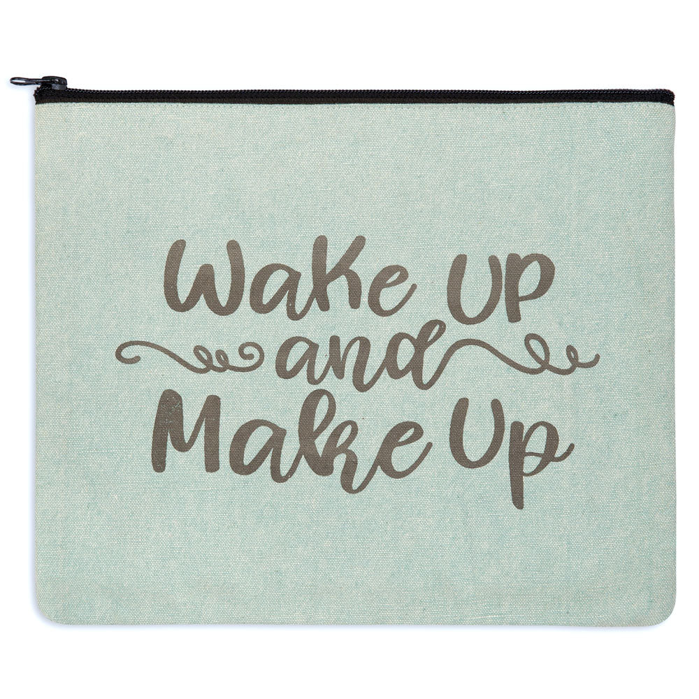 Wake Up and Make Up Travel Bag