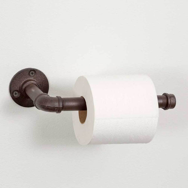 Set of 2 Industrial Toilet Paper Holders