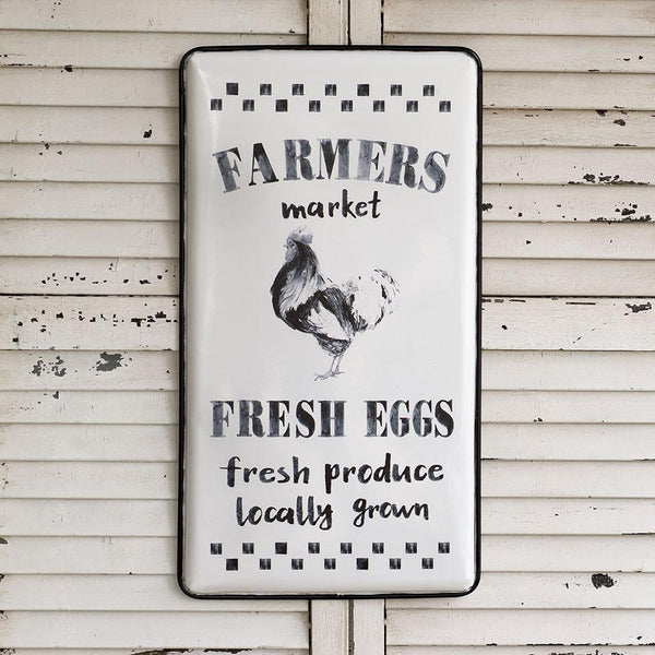 Farmers Market Metal Sign 2