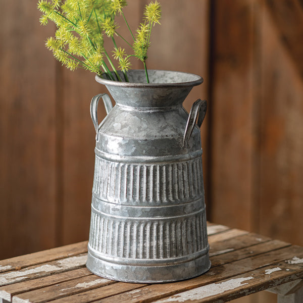 Rustic Milk Can with Handles