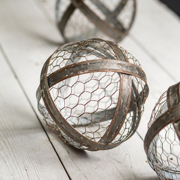 Chicken Wire Metal Ball