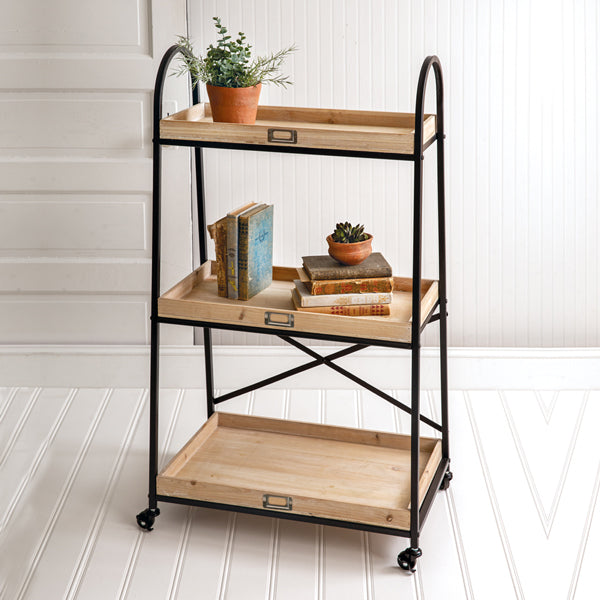 Lehigh Three-Tier Standing Shelf