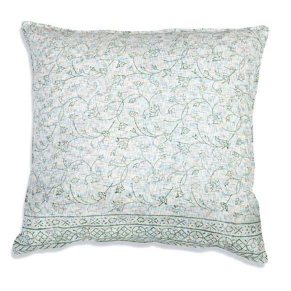Blossom Cotton Euro Throw Pillow