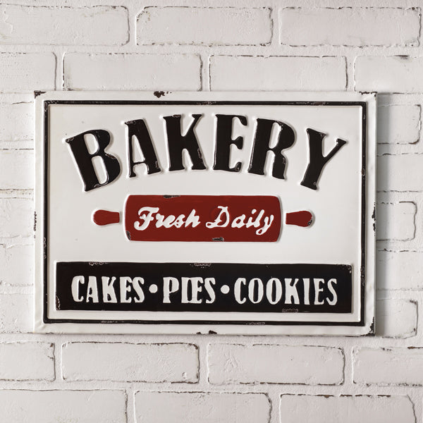 Bakery Decorative Metal Wall Sign