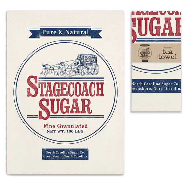 Set of 4 Sugar Sack Tea Towels