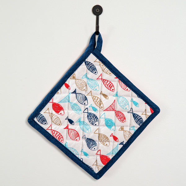 Fish in the Sea Pot Holder - Box of 4