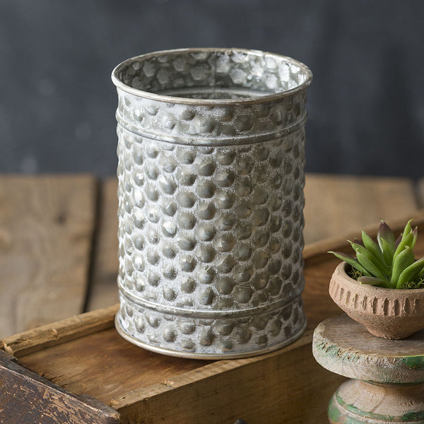 Textured Small Canister