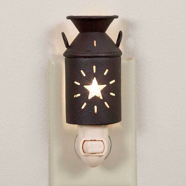 Star Milk Can Night Light - Set of 6