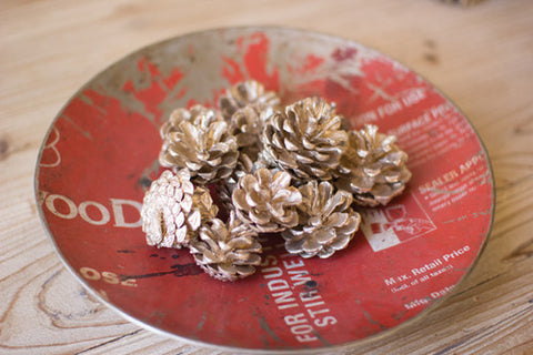 Bag of Pine Cones- Champagne