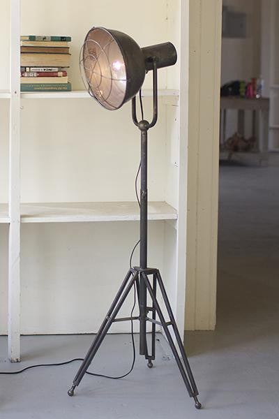 Caged Studio Lamp
