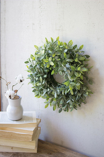 "Artificial Sage Wreath 24"" Dia."
