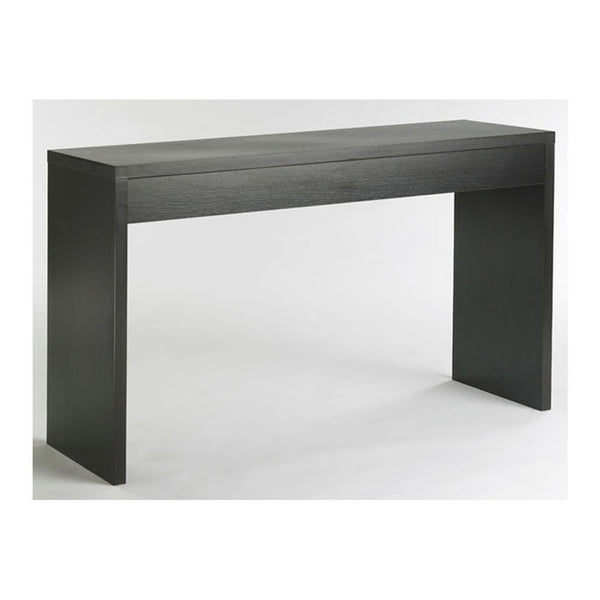 Contemporary Living Room Console Wall / Sofa Table in Espresso