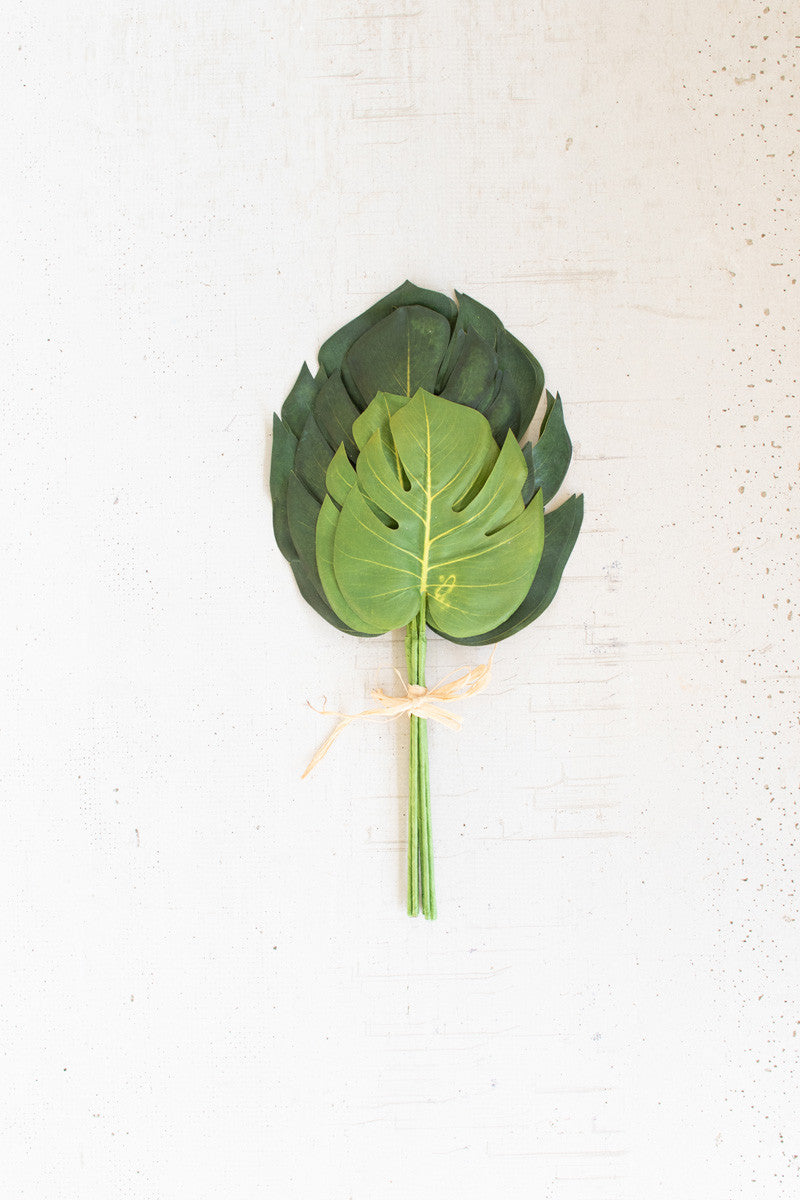 Set Of 6 Monstera Leaf Bundles