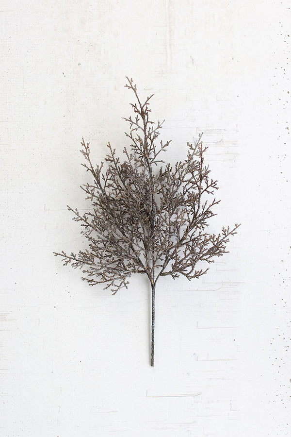 Artificial Cypress Branch - Set Of 6