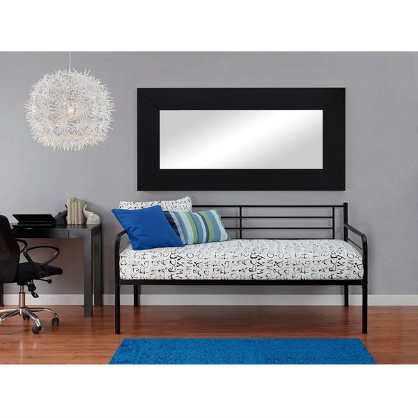 Twin Size Contemporary Black Metal Daybed