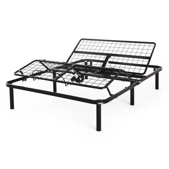 Twin XL Steel Adjustable Bed Frame Base with Remote Control