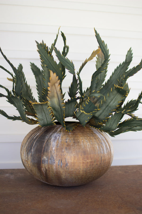 Antique Verdigris Planter
