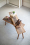 Set of 2 Recycled Wooden Benches