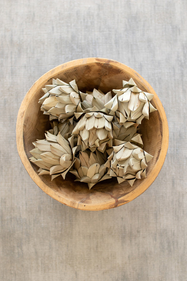 Bag Of 108 Faux Artichokes  -  Natural