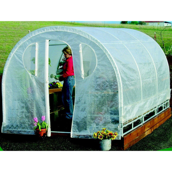 Polytunnel Hoop House Greenhouse (8' X 12')