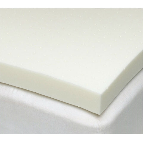 Full Size 3 Inch Thick Ventilated Memory Foam Mattress Topper