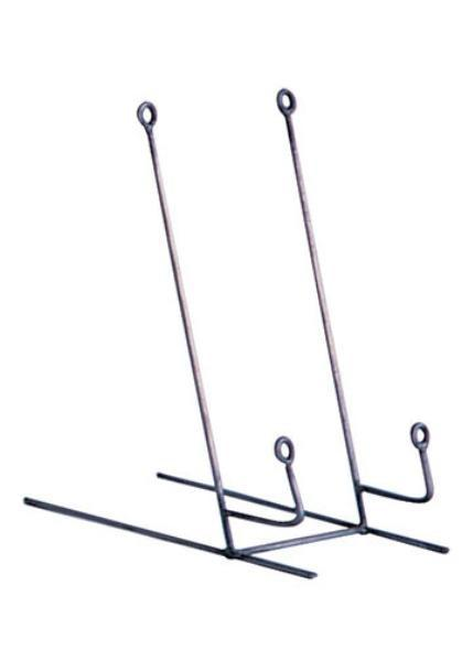Set Of 6 Wire Easels Or Plate Stand